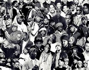 """""""Hip Hop Legends Collage"""" Posters by SaintSinnerShop ..."""