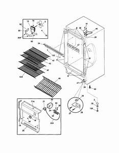 Universal  Multiflex  Frigidaire  Mfu17f3gw6 Upright