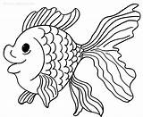 Coloring Fish Pages Goldfish Printable Catfish Clown Drawing Sheets Bowl Animal Cool2bkids Getcolorings Printables Drawings Bf Cool Adult Getdrawings sketch template