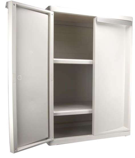 Sterilite Storage Cabinet by Sterilite 01408501 Heavy Duty Adjustable 2 Shelf Base
