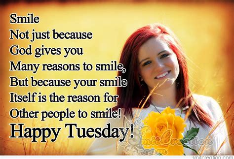 happy tuesday smile   people  smile