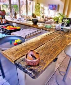 DIY Wood Countertops Kitchen Bar Counter