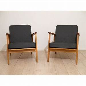 Meuble Scandinave Vintage : fauteuil design scandinave la maison retro ~ Teatrodelosmanantiales.com Idées de Décoration