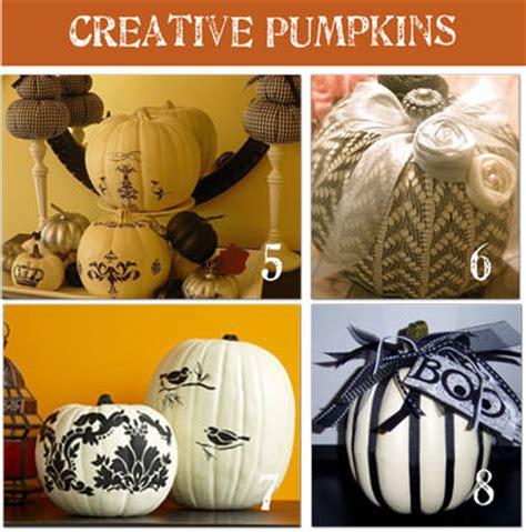 creative pumpkin decorating ideas 32 creative ways to decorate a pumpkin tip junkie