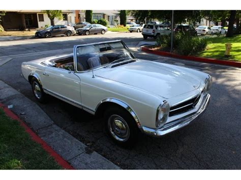 This automobile has a 4 door saloon (sedan) body style designed by friedrich geiger with a front mounted engine powering the rear wheels. 1964 Mercedes-Benz 230SL for Sale | ClassicCars.com | CC ...