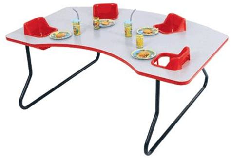 chair with high tables for day care