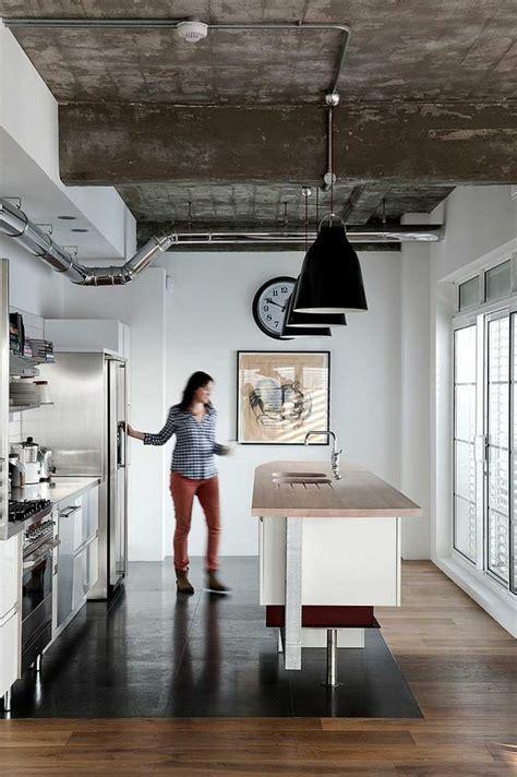 cuisine loft industriel cuisine esprit loft industriel