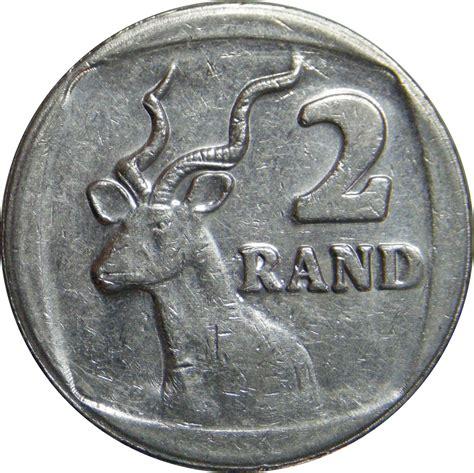 2 rand suid afrika south africa afrique du sud numista
