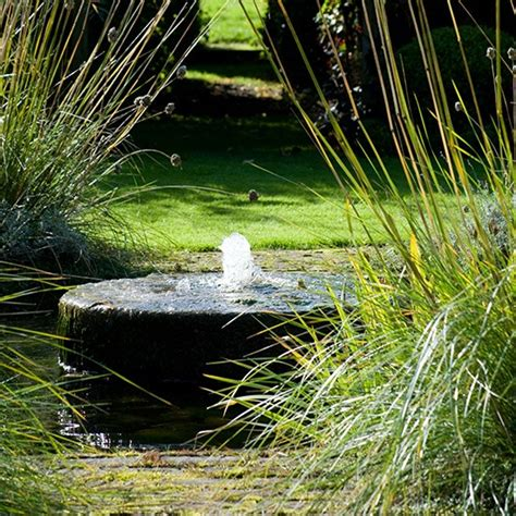 soothing garden water feature relaxing garden design