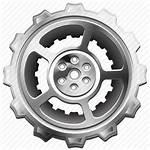 Gear Icon Cog Machine Sprocket Industrial Hub