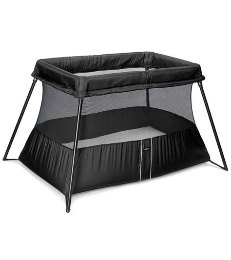 baby bjorn travel crib light babybjrn travel crib light 2 in black