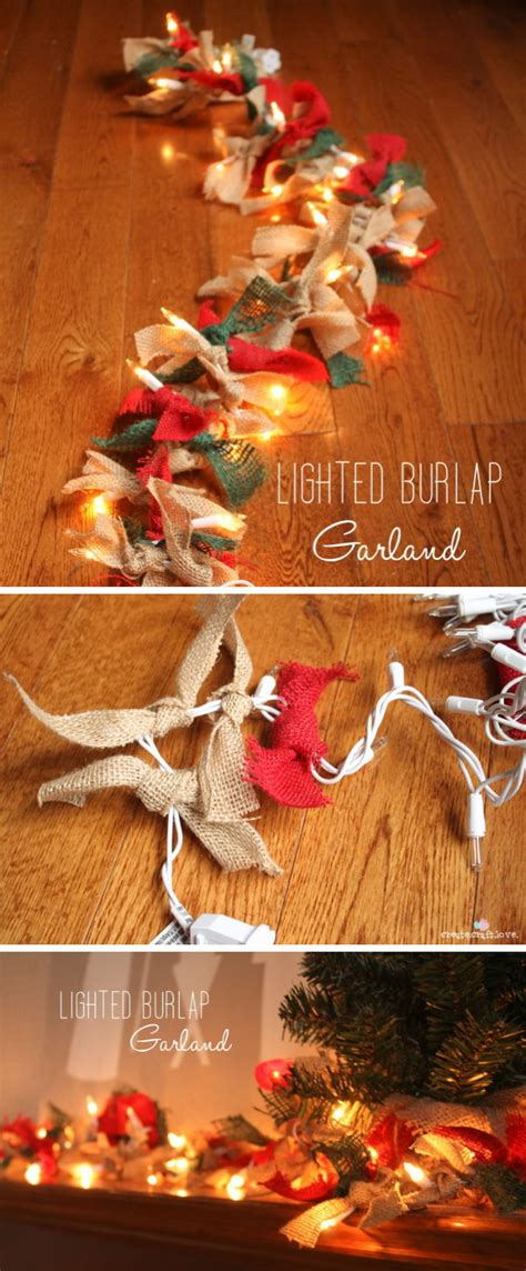 festive string  fairy light decoration ideas