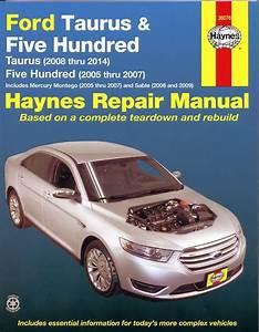 Ford Taurus Repair Manual  2005