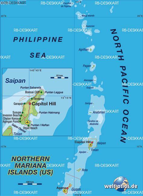 northern mariana islands map  northern mariana islands