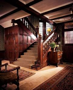 Sagee Manor-foyer and staircase - Hooked on Houses