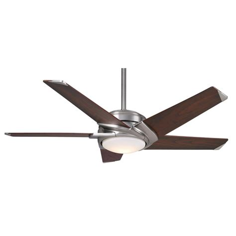casablanca stealth fan blades casablanca fan company stealth 54 quot brushed nickel with