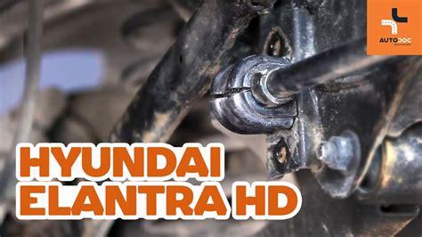 replace rear stabilizer bushes  hyundai elantra