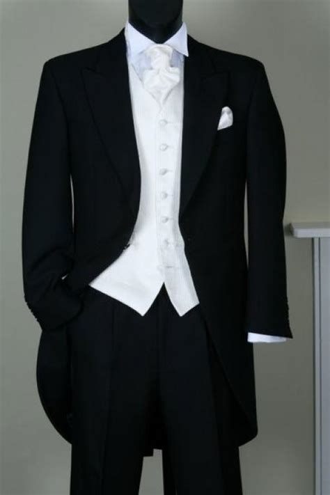 Formally Yours - Black Tailcoat