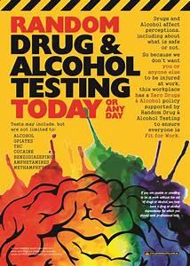Drug & Alcohol Testing Safety Poster