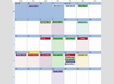 Outlook's calendar looks like a patchwork quilt
