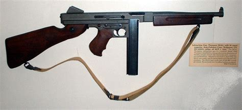 thompson submachine gun wikipedia