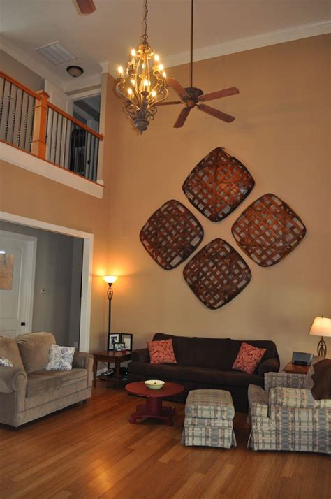 Decorating Ideas For The Walls by Tobacco Basket Idea Great Solution For That Soaring