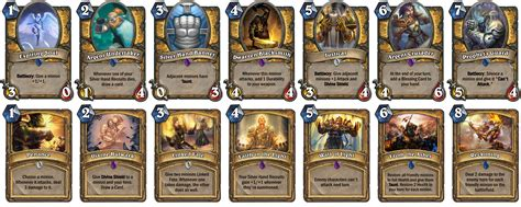Custom Hearthstone Set (14 Cards For Each Class) Fan