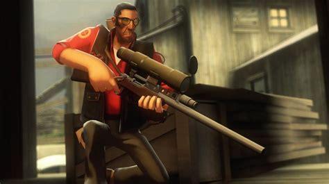 team fortress  sniper pose thdeviantartnet
