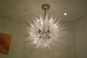 Crystal ceiling fan light fixture : Glass lighting fixtures chandelier on winlights
