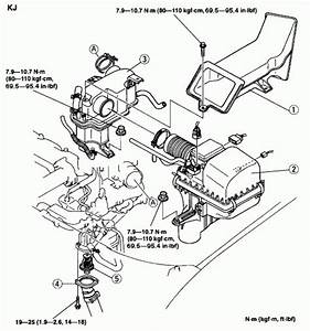 2001 Mazda Millenia Engine Diagram