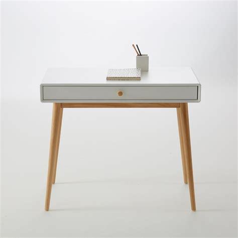 bureau peu encombrant bureau 1 tiroir jimi la redoute interieurs la redoute