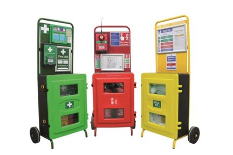 cabinets at target responder stations target site health and safety
