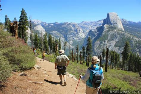 hikes  yosemite national park hikespeakcom