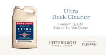 Behr Deck Cleaner And Brightener Directions by Proper On Using Ultra Deck Cleaner