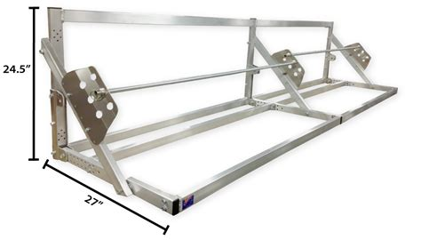 Pit Products 12' 12ft Aluminum Tire Wheel Rack Race Car