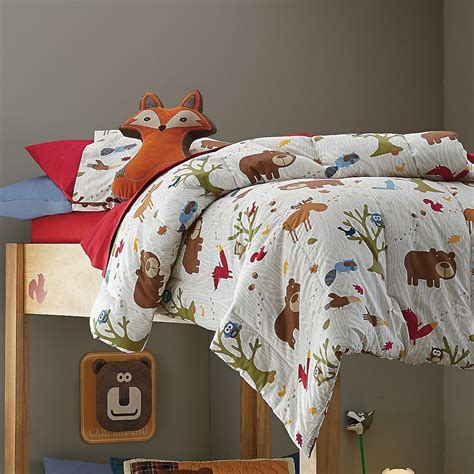 covered  adorable woodland creatures  cozy kids