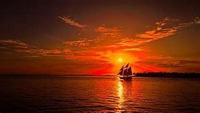 Sunset Florida Beach Keys Sunsets Miami Key