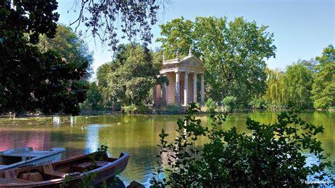 villa borghese gardens rincones de roma
