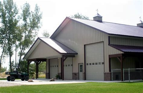 Great 50? x 60? Residential Metal Building w/ Porches (7