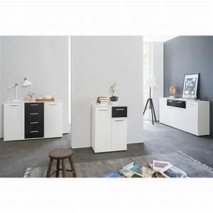Sideboard Weiß Schwarz : sideboard jacklin ii wei schwarz 99 95 ~ Orissabook.com Haus und Dekorationen