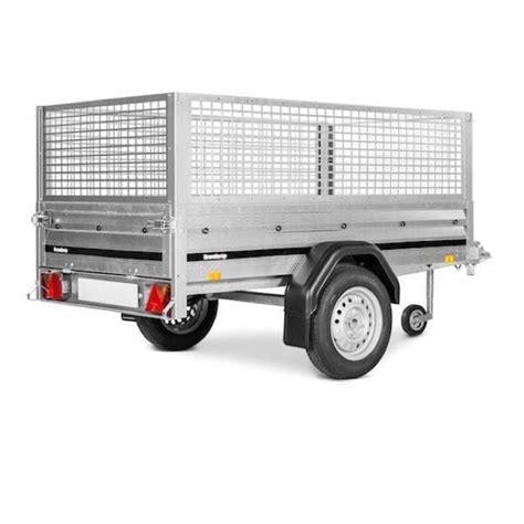 brenderup 1205 s brenderup trailer 1205 s fritidstrailer med netsider prof shoppen dk