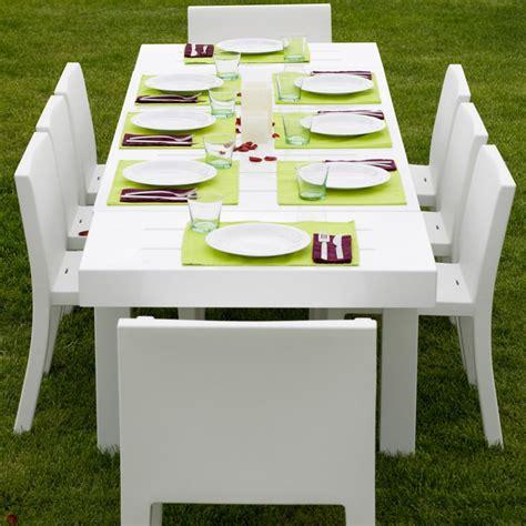 Table De Jardin Design 10 Personnes Jut Par Vondom