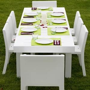 Table 12 Personnes : table de jardin design 12 personnes jut par vondom ~ Teatrodelosmanantiales.com Idées de Décoration