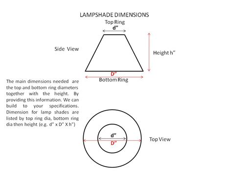 how to measure a l shade cmb designs custom lshade manufacture and restoration