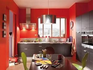 guide decoration cuisine gris et rouge With deco cuisine rouge et gris