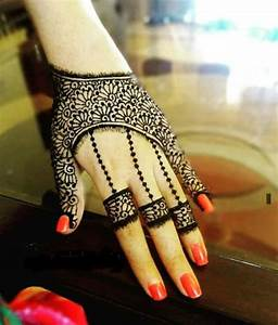30 Unique Mehndi Designs For Hands - Art & Craft Ideas