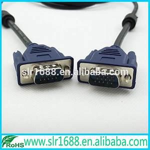 1080p Db15 Pin D-sub Wiring Diagram Vga Cable For Computer Monitor