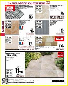 Colle Carrelage Exterieur Brico Depot : carrelage terrasse brico depot catalogue brico dpt en ~ Dailycaller-alerts.com Idées de Décoration