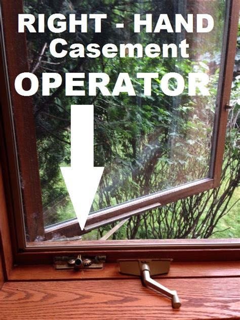 style window crank p p casement operator part  handing truth window hardware