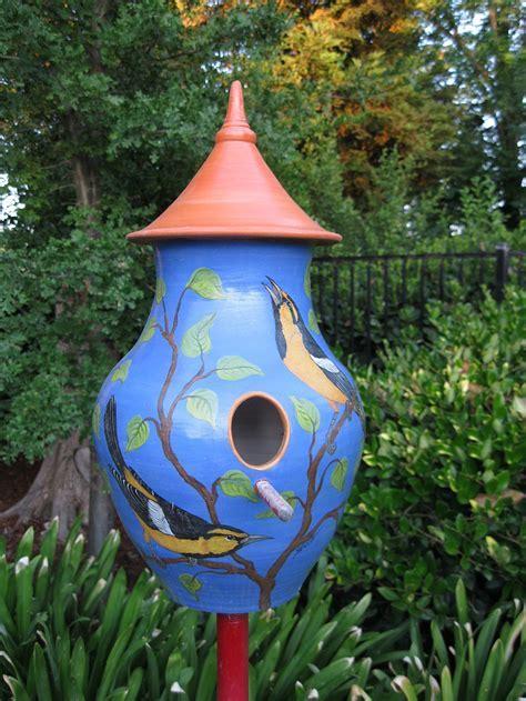Susan Shelton, Ceramic Artist   Bird Houses
